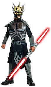 star wars kids halloween costumes amazon com star wars savage opress deluxe muscle chest costume