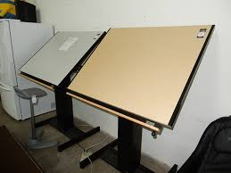 Drafting Table Mayline Used Electric Mayline Drafting Table 575 Powell S Office