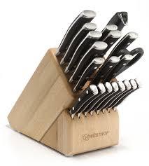 kitchen knives wusthof wusthof ikon 22 mega knife block set reviews wayfair