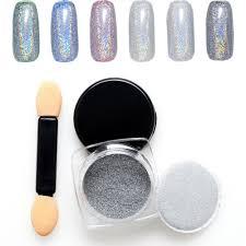 popular rainbow holographic nail powder buy cheap rainbow