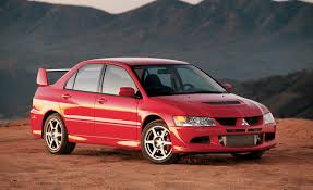 mitsubishi street racing cars 2003 mitsubishi lancer evolution road test u2013 review u2013 car and driver
