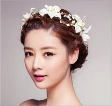 flower bands hair bands headband flower crown garland tiara headbands with