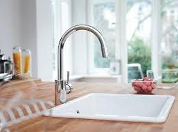 robinet cuisine grohe k7 grohe robinet de cuisine concetto douchette escamotable haute plage