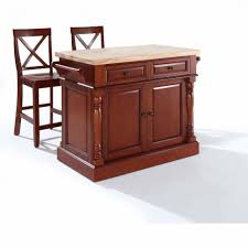 kitchen wonderful butcher block rolling cart butcher block top