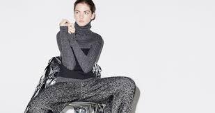 moda donna zara moda donna inverno 2015 la nuova collezione in primo piano