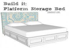 Best 25 Platform Bed With by Superior Diy Queen Platform Bed With Storage Platform Bed With