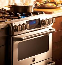 Ge Built In Gas Cooktop Ge Cgs990setss 30 Inch Slide In Café Series Double Oven Gas Range