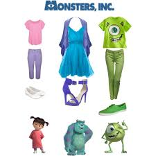 dress monsters characters polyvore