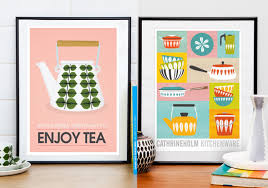 affiche deco cuisine affiches cuisine vintage argileo
