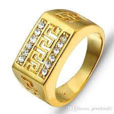 men golden rings images Fashion men jewelry classic band rings mens gold rings high jpg