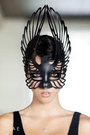 leather masquerade masks leather mask