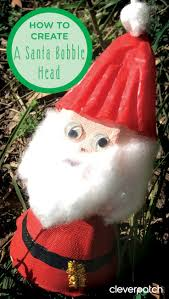 use an egg carton to make this simple christmas craft activity