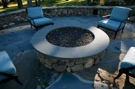 Diy Natural Gas Fire Pit by Outdoor Stone Fire Pit Kits And Fire Pit Inserts
