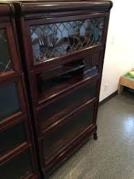 Macey Barrister Bookcase Bookcase Antique Vintage Lundstrom Barrister 4 Stack Bookcase
