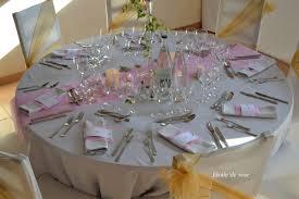 deco table rose et gris mariage romantique rose et or etoile de rose