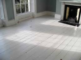 Grey Walls Wood Floor by White Wood Floors That Boost Rustic Room Interior Appearance