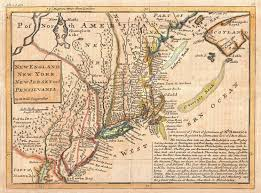 York England Map by Map Of New York To Boston 1729 Post Map Old Maps Of Paris