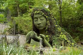 World Botanical Gardens Imaginary World Fascinating And Sculptures At Atlanta