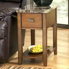 leick recliner wedge end table furniture recliner wedge table side for inspirations with storage