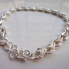 chain bracelet designs images 2018 hedgehog pattern silver chain bracelets wave style chain link jpg