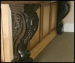 Kitchen Island Corbels Kitchen Island Legs