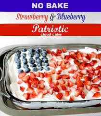Dessert Flags No Bake Flag Cake Quick Easy And Cute All Created