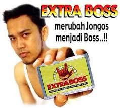 gambar plesetan iklan lucu extra boss gambar obat kuat di rebanas
