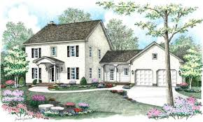 colonial house plans 4 bedroom 3 bath colonial house plan alp 03dm allplans