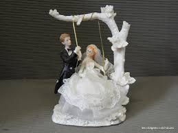sujet mariage decoration figurine originale pour pièce montée mariage décoration
