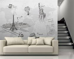 Paris Wall Murals Paris 3d Wall Murals Wallpaper Promotion Shop For Promotional