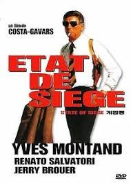 etat de siege state of siege costas gavras yves montand sealed dvd