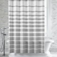 Whote Curtains Inspiration Inspiring Stripped Shower Curtains Inspiration With Ticking Stripe