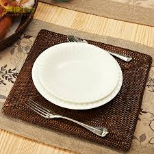 placemats for square table placemats for small square table