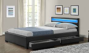 Bed Frames With Storage Drawers And Headboard Bedroom King Size Bed Frames With Drawers King Frame With