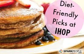 Ihop Light Menu Diet Friendly Dining Ihop Restaurant Sparkpeople