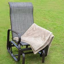 amazon com naturefun outdoor patio rocker chair balcony glider
