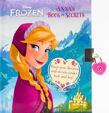 amazon disney frozen anna u0027s book secrets disney book