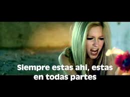 wish you were here avril lavigne traducida al español music