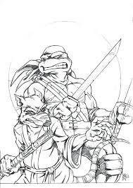 teenage mutant ninja turtles coloring book pages pdf free shredder