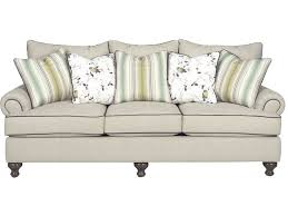 paula deen by craftmaster living room three cushion sofa p711750bd