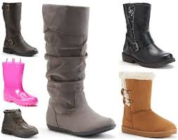 kohls black friday 2017 kohl u0027s black friday kids boots as low as 12 74 after coupon