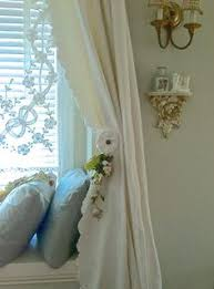Shanty Irish Lace Curtain There Is Something Really Old Creepy About Lace Curtains A