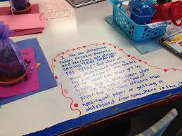 love our whiteboard tables learning and growing