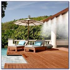 Patio Misters Patio Misting System With Pump Patios Home Decorating Ideas