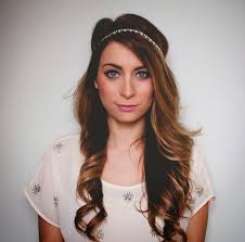 jewelled headband and easy hair wrap tutorial la noob a