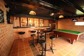 garage converted into bar office raw design pinterest bar