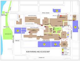 General Hospital Floor Plan Kgh Public Parking And Access Map Jpg