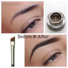 How To Fill Eyebrows Makeup By Starrly Brows Before U0026 After