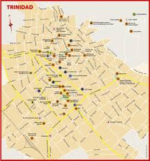 Map Cuba Trinidad Cuba Map Map Of Trinidad Cuba Caribbean Americas
