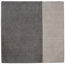 Stair Landing Rug Hand Knotted Undyed Himalayan Wool Landing Rug A Frame 36x36